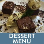 Menu button - Dessert